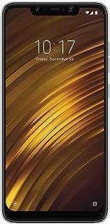 Xiaomi POCOPHONE F1 Dual SIM - 64GB, 6GB RAM, 4G LTE, Graphite Black – International Version POCO F1