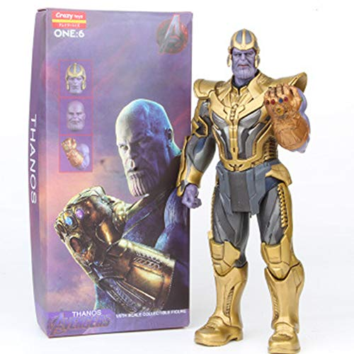 YWEIWEI Marvel Avengers 3 Model 1/6 HC Thanos Action Figure Kids