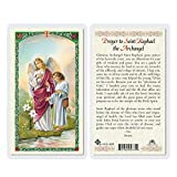 Prayer to St. Raphael The Archangel Holy Card (HC9-182E) - Laminated Prayer to St. Raphael The Archangel Holy Card (HC9-182E) - Laminated Prayer to St. Raphael The Archangel Holy Card (HC9-182E) - Laminated Prayer to St. Raphael The Archangel Holy Card (HC9-182E) - Laminated Prayer to St. Raphael The Archangel Holy Card (HC9-182E) - Laminated Prayer to St. Raphael The Archangel Holy Card (HC9-182E) - Laminated Prayer to St. Raphael