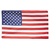 ADATECH Bandera EEUU Estados Unidos 90x150cm bandera americana poliester adapta a mastil