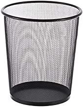 ZXHDND Barbed Wire Trash Can Office Creative Uncovered Trash Can Simple Modern Home Large Hollow Paper Basket (Color : Whi...