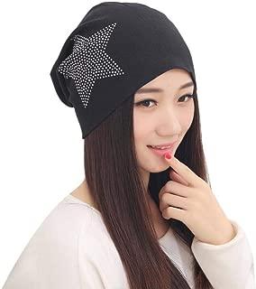 Womens Hat Autumn Winter Baggy Beanie Czekh Diamond Cap