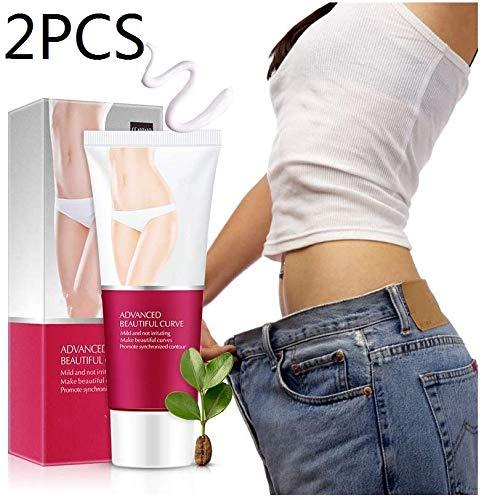 MRLZLT 2Pcs Caffeine Burn Cream,Hot Body Slim Loss Weight Cream, Perfect for Shaping Waist, Abdomen and Buttocks,Improves Blood Circulation