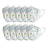 YpingLonk 10/20/30/50/100 pc Bufanda Unisex con Estampado Floral para niños - Moda Universal Suave Bufanda Linda de 5 𝓬𝓪𝓹𝓪 para la Escuela al Aire Libre diario-210123-26