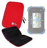 DURAGADGET Pochette étui Rigide Rouge pour Vtech Storio Max XL 2.0 Tablette Enfant...