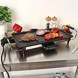 Wido Teppanyaki Grill Plate Electric Hot Plate Griddle BBQ 2000W BBQ Flat Frying