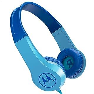 Motorola Kids Headphones Motorola On-Ear Kids Headphones, Blue, (SQUADS200BLUE)