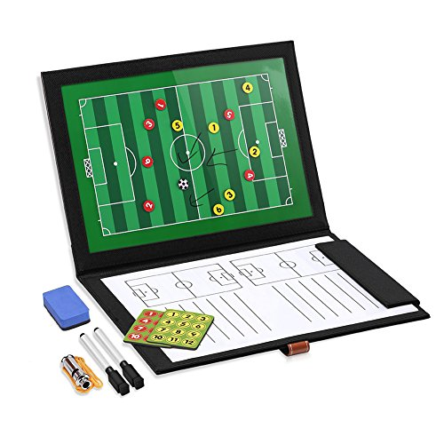 GHB Carpeta Táctica Plegable para Entrenamiento de Fútbol