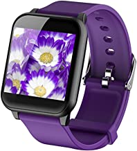 Highpot Smart Watch GPS Tracker Blurtooth Watch Compatible for iOS Android Boys & Girls Waterproof Sports Smart Watch Birthday Gifts (Purple)