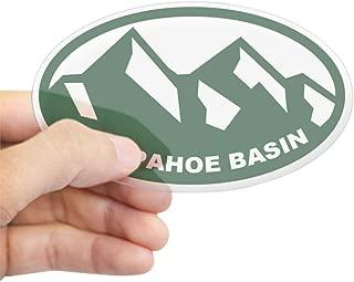 CafePress Arapahoe Basin Oval Bumper Sticker, Euro Oval Car Decal