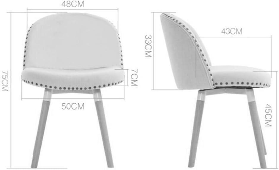 WDX- Solide Bois À Manger Chaise Café Chaise Dossier Bureau Tabouret Simple Moderne Ordinateur D'apprentissage Chaire Adulte Ménage Créativité mode (Color : E) D