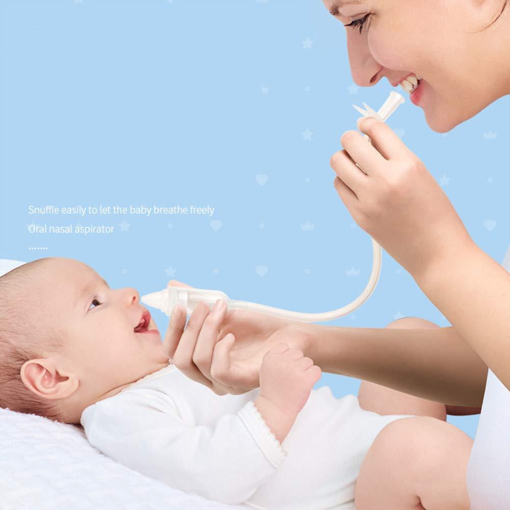 ZZHK Aspirador Nasal para Bebés, Aspirador Nasal Oral, Silicona ...