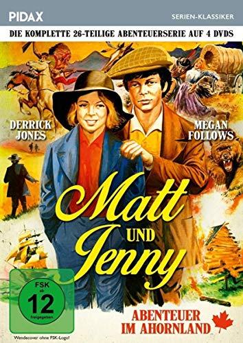 Matt und Jenny - Abenteuer im Ahornland / Die komplette 26-teilige preisgekrönte Abenteuerserie (Pidax Serien-Klassiker) [4 DVDs] [Alemania]