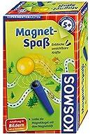 Kosmos 602406 Magnet-Spaß, Entdecke unsichtbare Kräfte, 12 Experimente, Ohne Lesekenntnisse forschen, Experimentierset für Jungen und Mädchen ab 5 Jahre