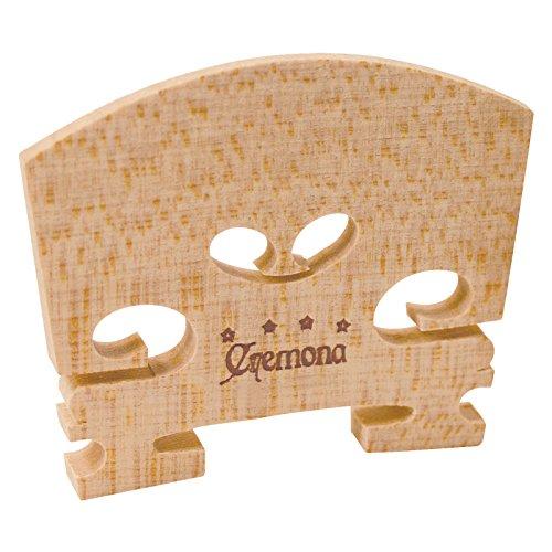 Cremona VP-204 4-star Violin Bridge,Natural