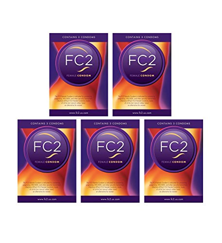 Female Condoms By FC2 (15 Pack)
