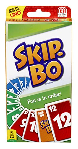 Mattel Skip BO Card Game by
