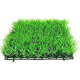 linjunddd Turf Simulada Agua De La Hierba Acuario Plástico Césped Artificial Grass Ornamento Pecera Decoración De La Fuente Conveniente