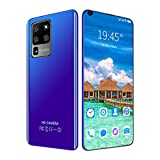 Teléfono Móvil SIM libre desbloqueado, Android 10 GO, S30U 8G Dual SIM Smartphones, 8GB RAM 268GB ROM extensión, pantalla Dewdrop de 7,3 pulgadas, dos ranuras para tarjetas, tres cámaras Smartphone