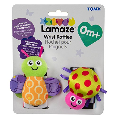 Lamaze Wrist Rattle Toy Bug
