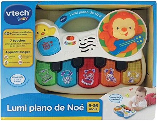 Vtech 150.805 Babypiano mit Licht und Musik