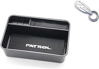 Suitable For Nissan Patrol Y62 Accessories Armrest Storage Box Central Armchair Storage Box (Armrest Patrol Y62)