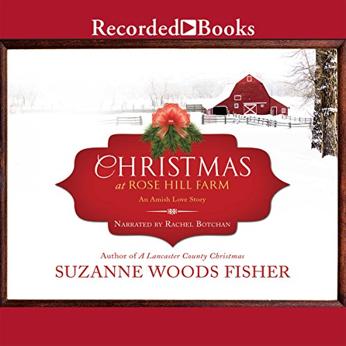 Christmas at Rose Hill Farm audiobook cover art