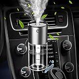 KangHan Umidificatore d'Aria per Auto, diffusore di aromi con Clip per Profumo 12V, Deodorante per Ambienti con 2USB, Ricarica Rapida dell'accendisigari, 4 in Uno