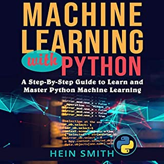Machine Learning with Python audiobook cover art