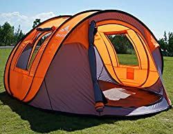 Large Pop Up Tent For 5 People