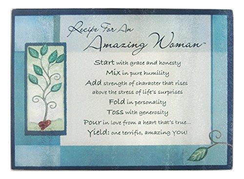 Abbey Gift Blue Amazing Woman Cutting Board