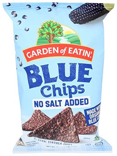 Blue Corn Tortilla Chips - No Salt Added