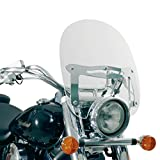 Givi Custom Pare Brise Universell Transparent avec ABE, 390 mm
