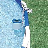 xingdong Soporte de pared para piscina Skimmer, 30 x 10 x 10 cm, cesta de limpieza automática para piscinas y fuentes, fácil de usar