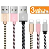 OTISA Cable Phone Cargador [3Pack 1.5M] USB Adaptador Compatible con...