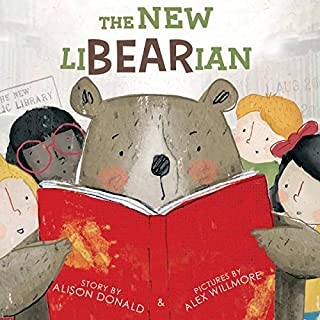 The New LiBEARian audiobook cover art