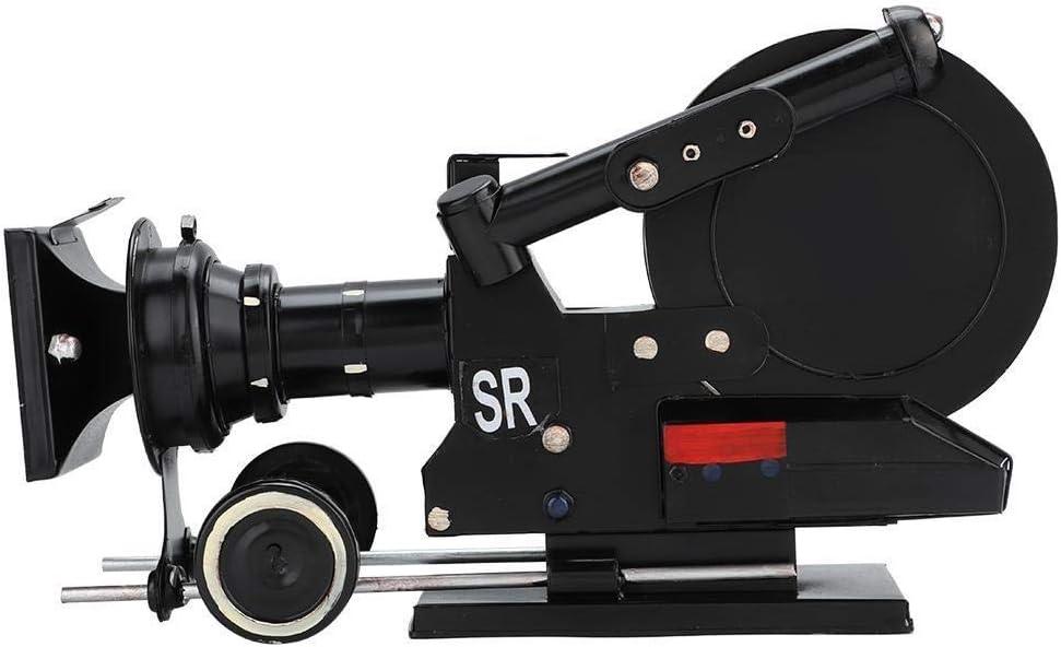 REOUG Retro European Style Iron Old Camera Model Decor Craft Pho