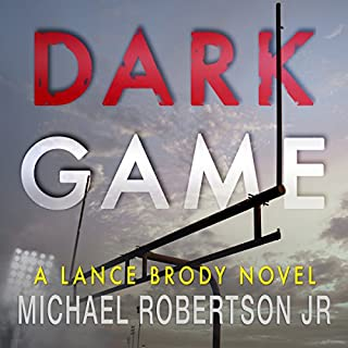 Dark Game audiobook cover art