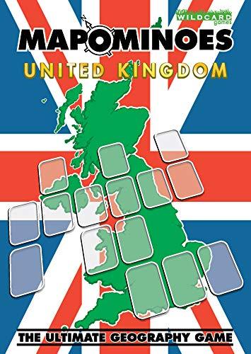 Wildcard-spel Mapominoes UK het ultieme geografisch spel
