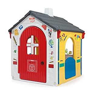 INJUSA-20334 Casa de juguete School Party, multicolor, 21 x 10 x 5 cm (20334)