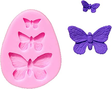 Butterfly Fondant Molds Silicone Sugar Mold for Cake Decorating