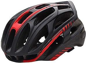 Claean-Acces-Home CascosDeCiclismoMultiuso Casco de Bicicleta de montaña de Carretera Casco de Ciclismo MTB Ultraligero para Hombre con luz Trasera LED Equipo Deportivo Seguro