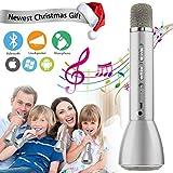 Silver Kids Karaoke Wireless Portable Upgraded