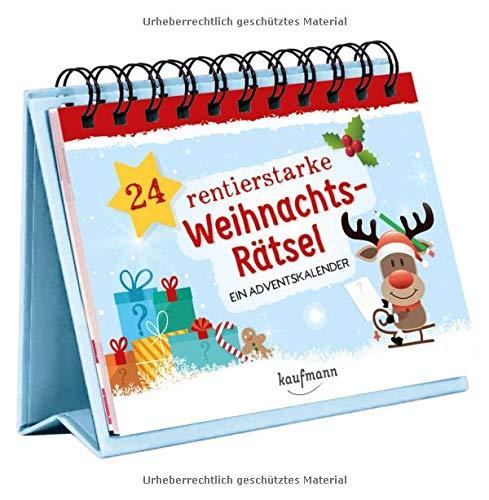24 rentierstarke Weihnachtsrätsel. Ein Adventskalender