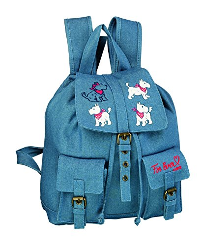 CHIPIE CHIPIE FOR EVER DENI Mochila escolar, 30 cm, Azul (Bleu)