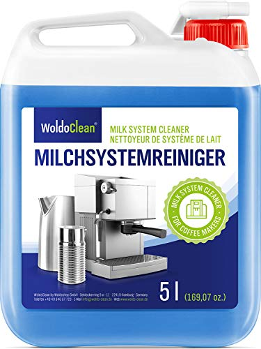 Milchsystemreiniger für Milchaufschäumer & Milchsysteme - 5 Liter inkl. Ausgießer