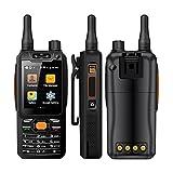 Mosthink F25 Zello Walkie Talkie Teléfono móvil 1GB + 8GB Celular Quad Core WCDME/LTE Amplificador de señal Smartphone Android 8MP Cámara (Negro, Estándar)