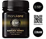 Manukora MGO 50+ Multifloral Raw Mānuka Honey - Authentic Non-GMO New Zealand Honey, UMF & MGO Certified, Traceable from Hive to Hand