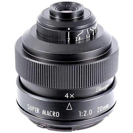 Mitakon Zhongyi 20mm f/2 Super Macro for Fuji X Mirrorless Digital Cameras