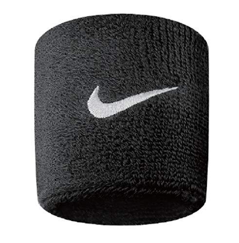 Nike NUEVAS BANDAS DE SUDOR (2 PAQUETES) (Negro)
